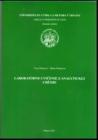 BCI V. Mrázová, M. Maliarová: Laboratórne cvičenia z analytickej chémie. UCM Trnava, 2012, 134 str.